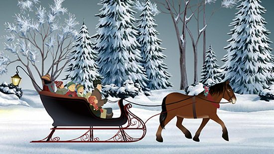 E cards and animated greeting cards by jacquie lawson behind the sleigh ride bookmarktalkfo Images